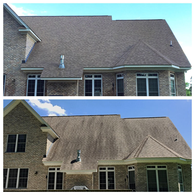 Residential Exterior Cleaning